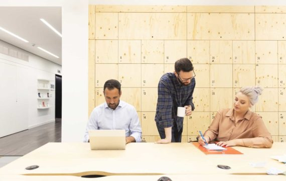 Office design influence on company culture