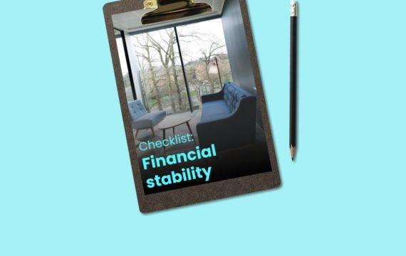 Financial stability checklist