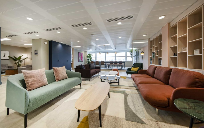MML office reception area design