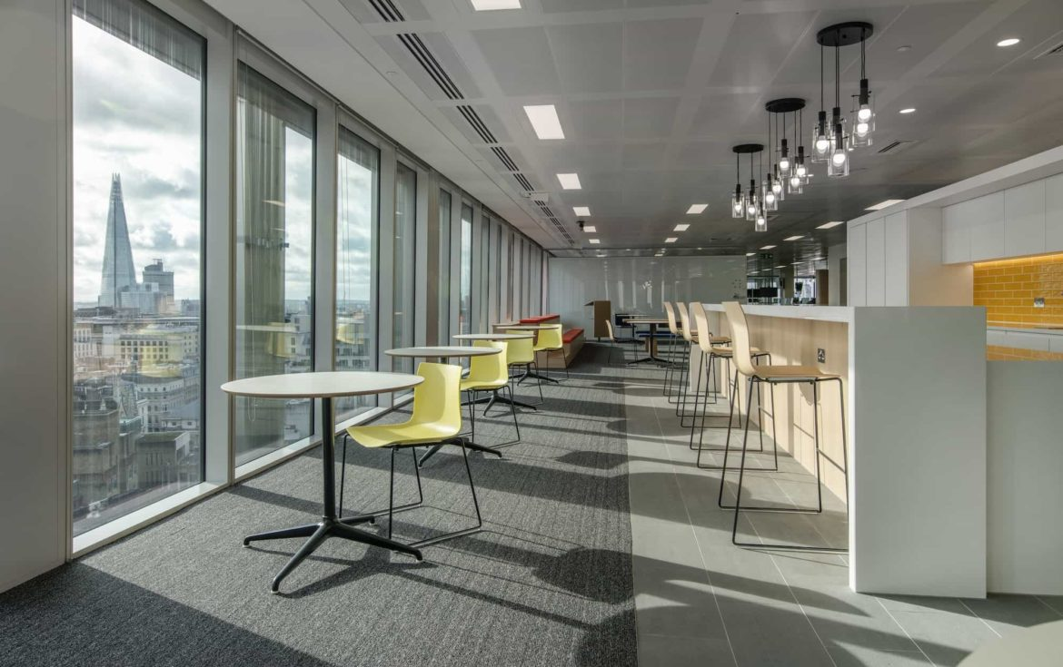 MarketAxess London office refurbishment