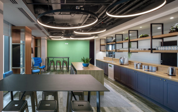 Electronic Arts new Guildford office design and fit out