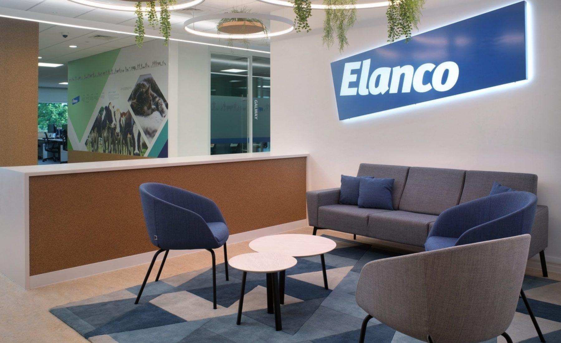 Elanco reception design by Morgan Lovell