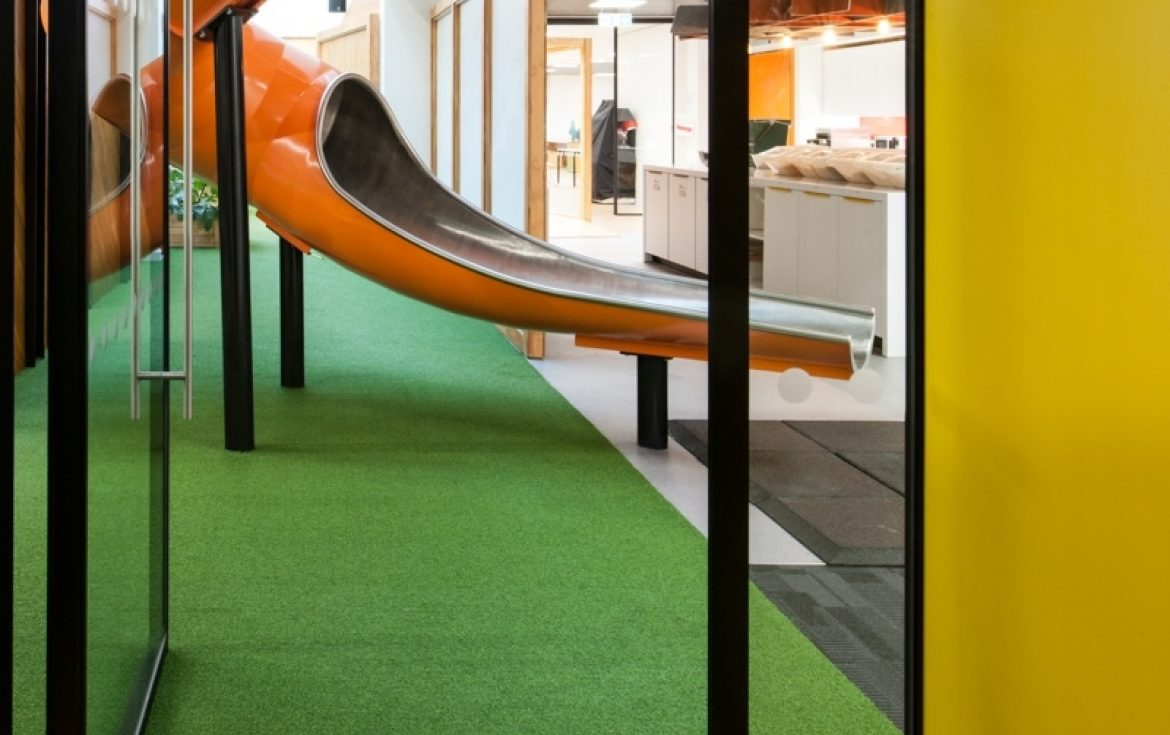 Morgan Lovell cool office design for Rackspace