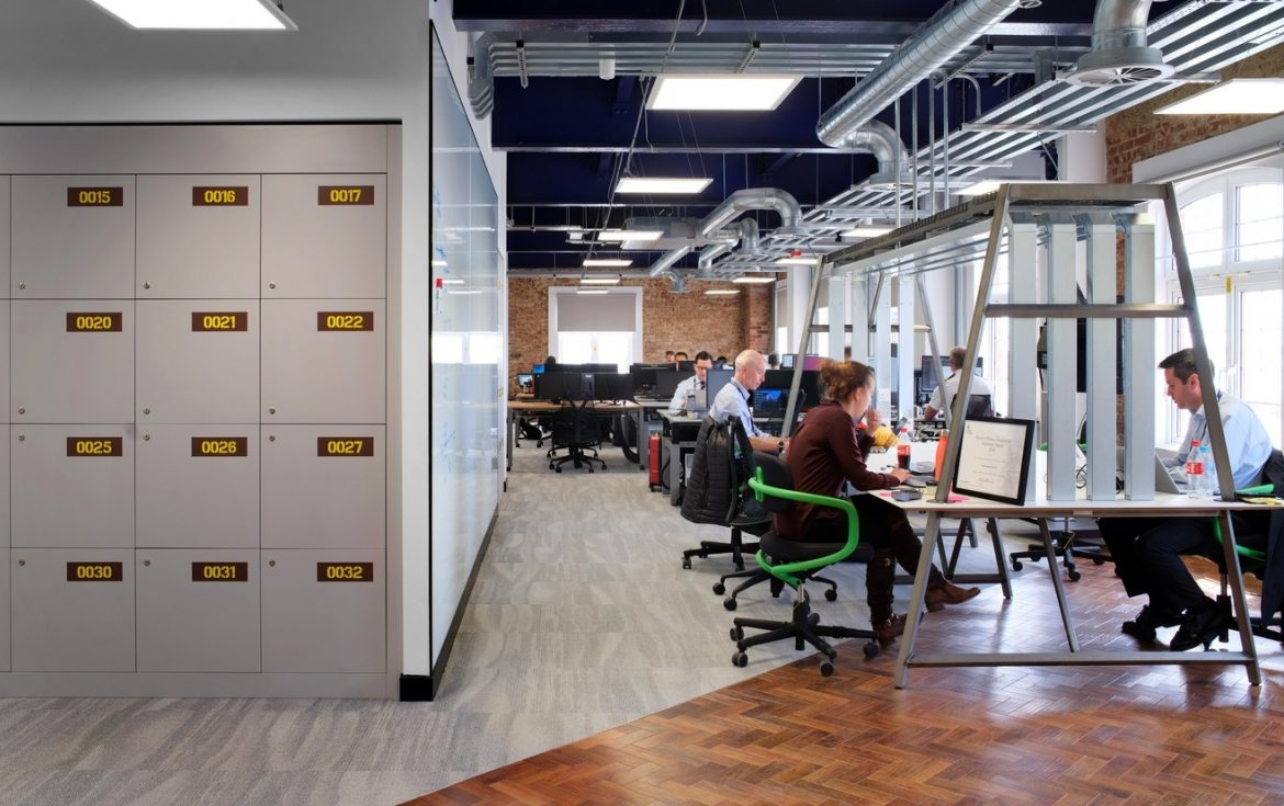 Royal Navy inspirational workplace design and fit out for teams