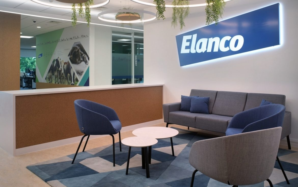 Elanco reception design by Morgan Lovell
