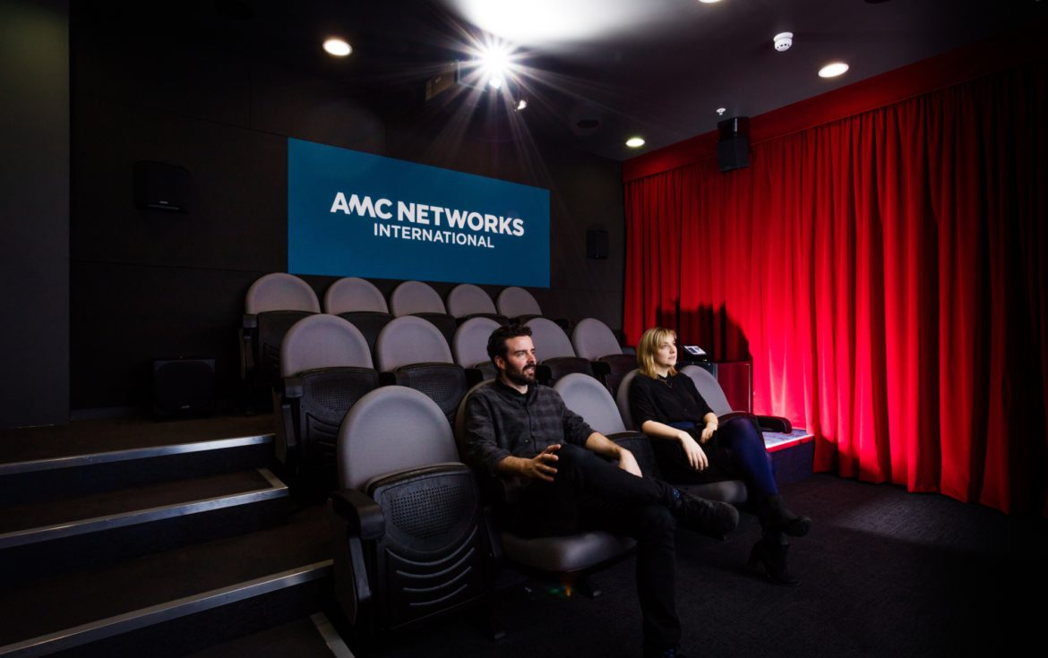 Morgan Lovell workspace design for user experience and engagement at AMC Networks
