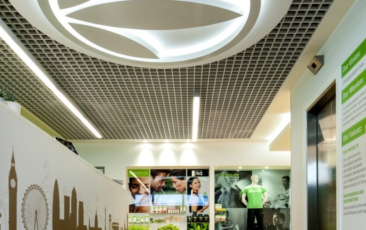 Morgan lovell's office fit out for Herbalife