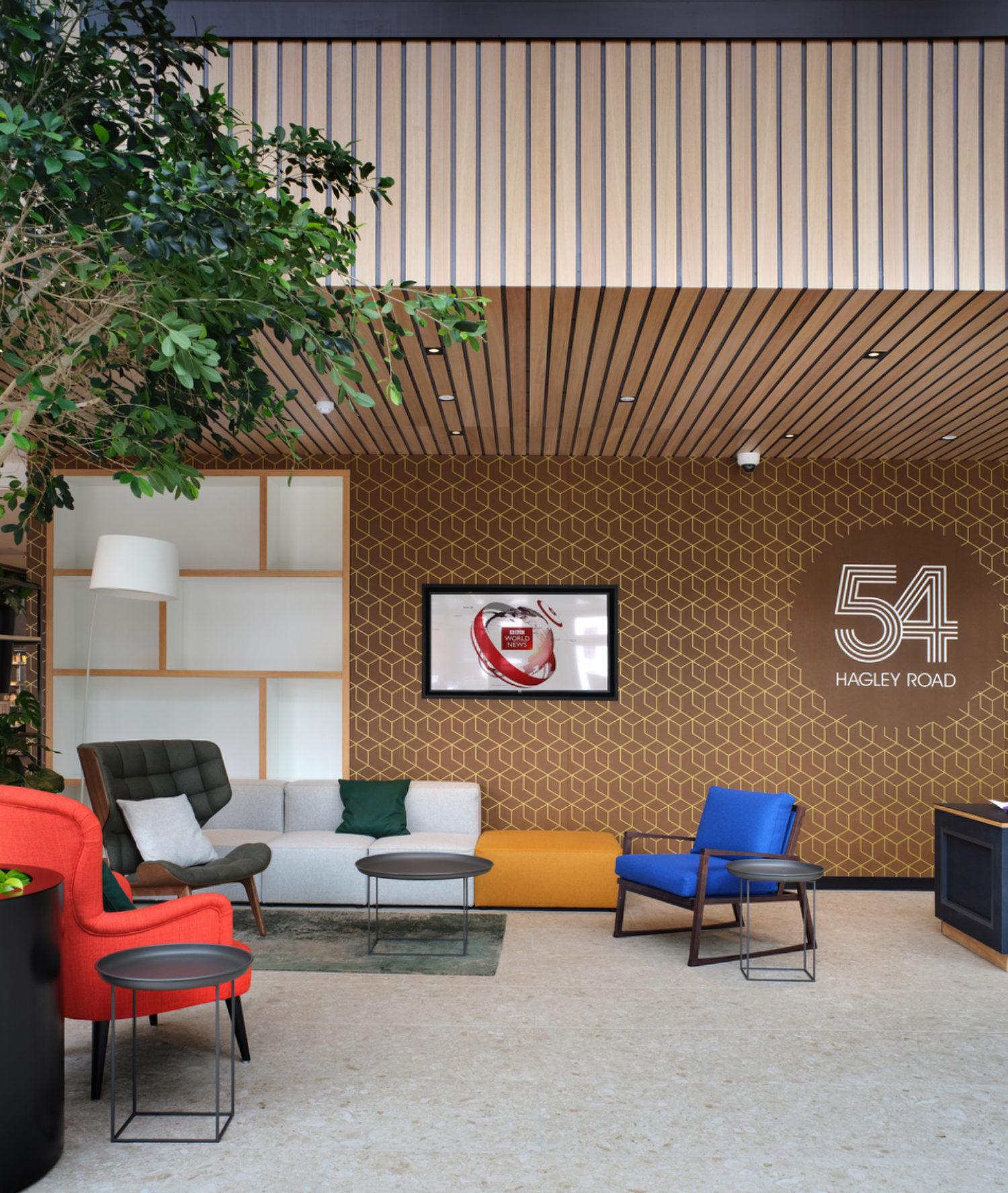 abrdn office breakout area
