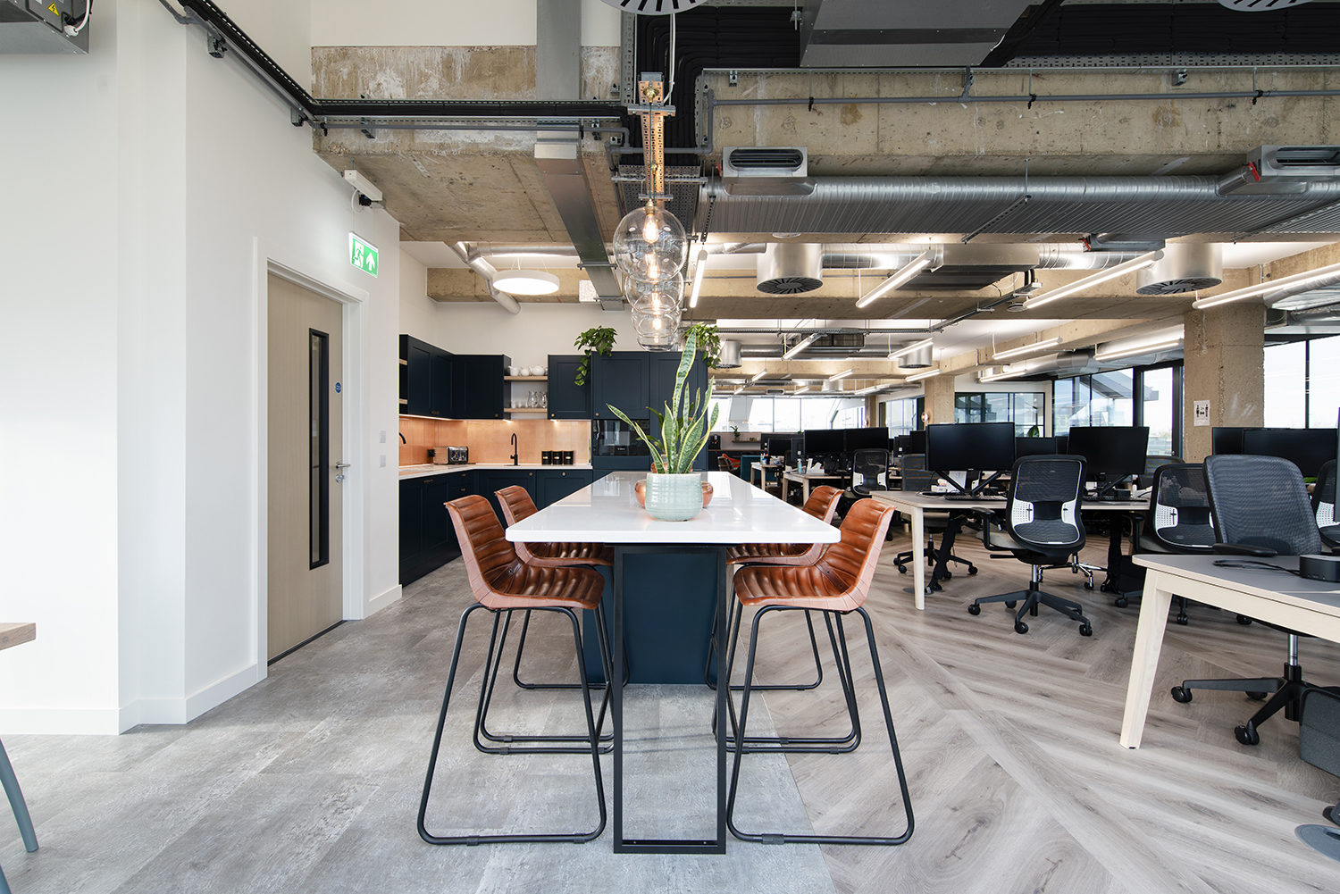 Lovell office breakout area fit out