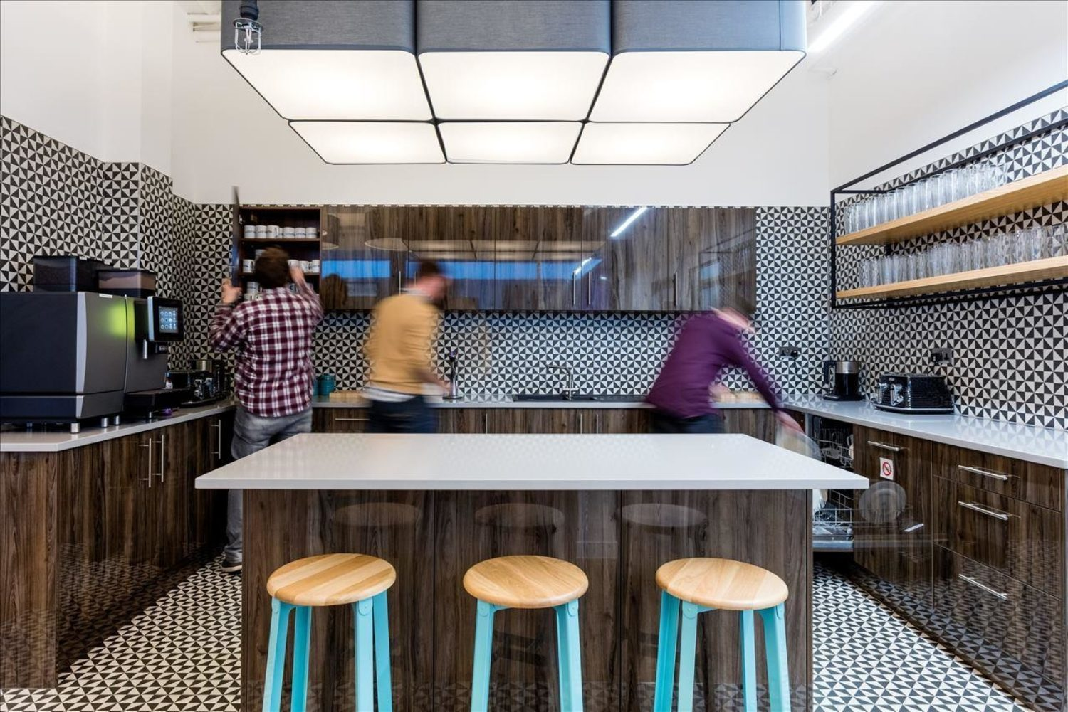 Cool office kitchen fit out