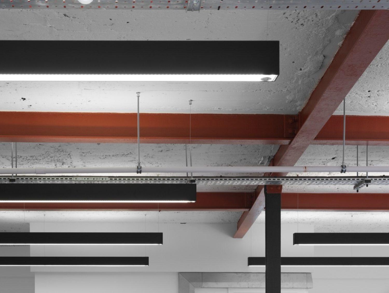 Aegon office lighting design