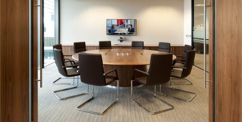 Amey circular meeting room design