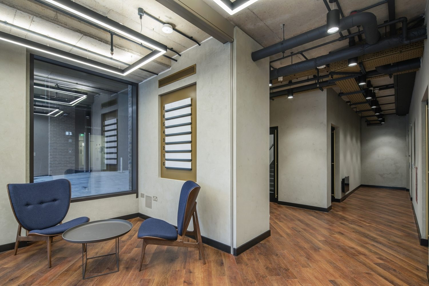 Cally Yard comunal workspace design