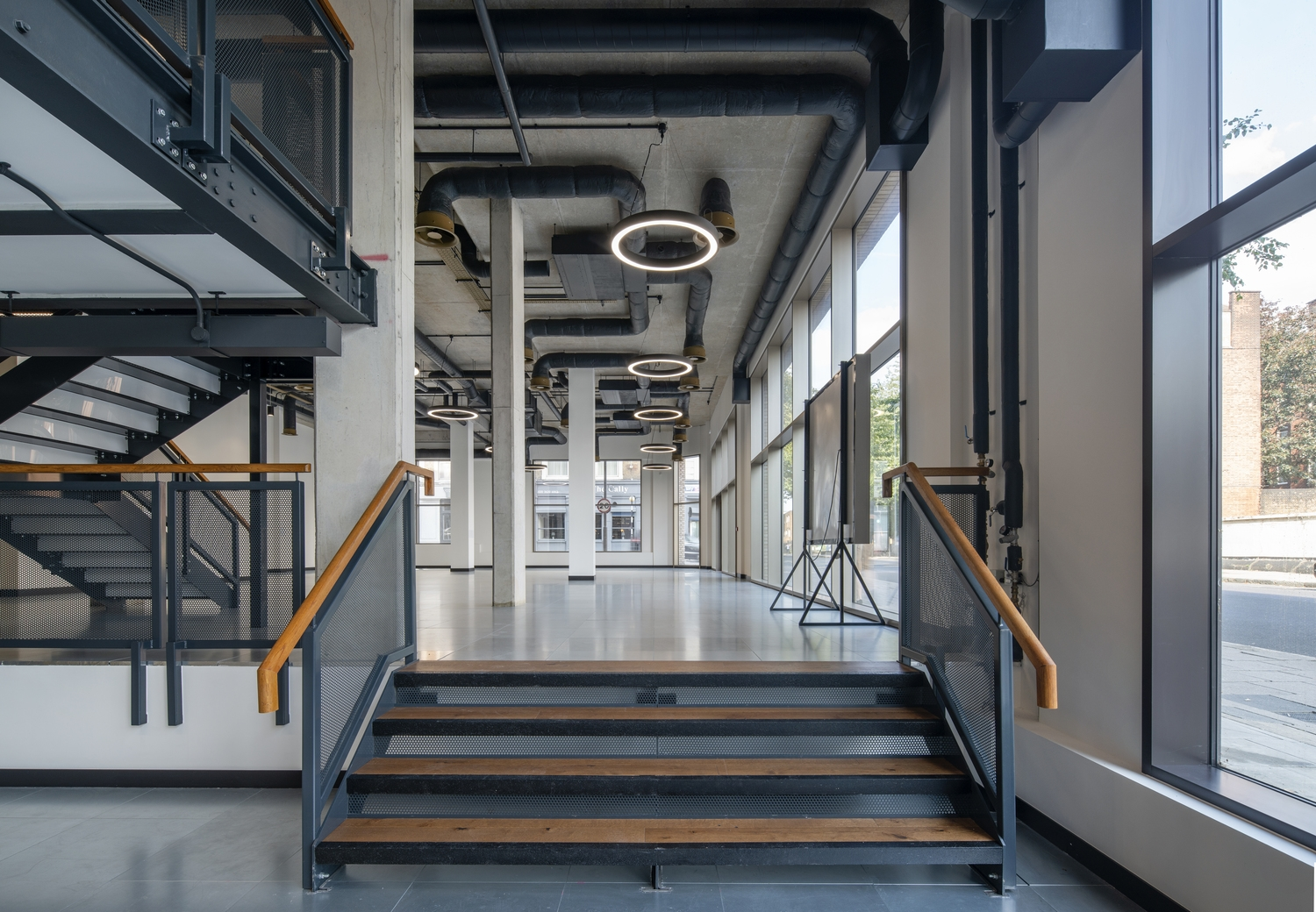 Cally Yard office workspace design natural light