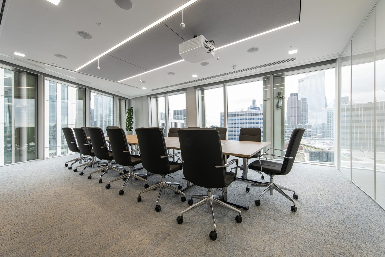 Compass Lexecon boardroom fit out