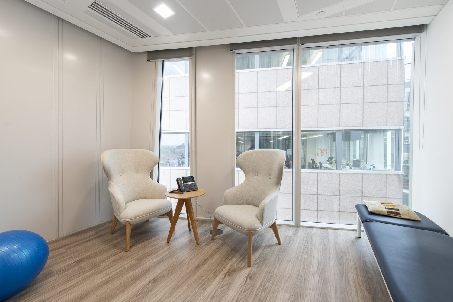 Compass Lexecon office wellbeing design