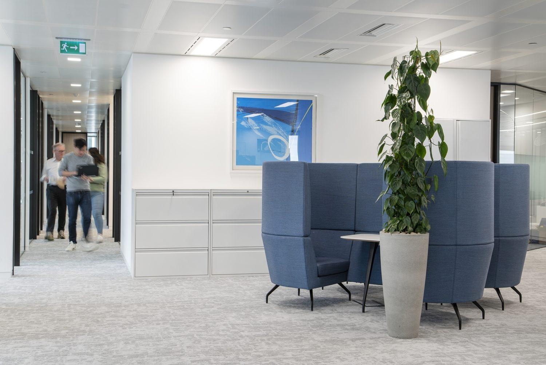 Compass Lexecon open plan office design