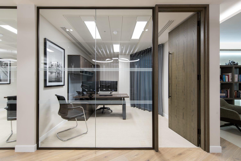 Dodge & Cox executive office design