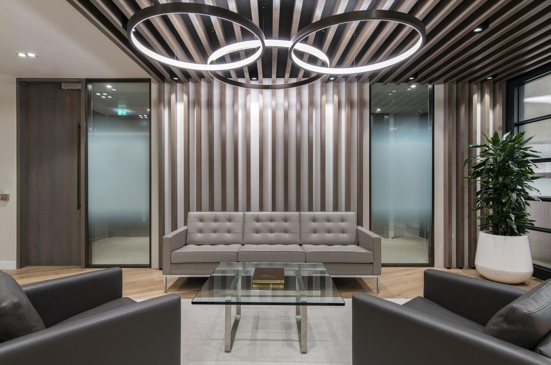 Dodge & Cox reception interior design