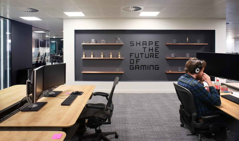 EA open plan fit out