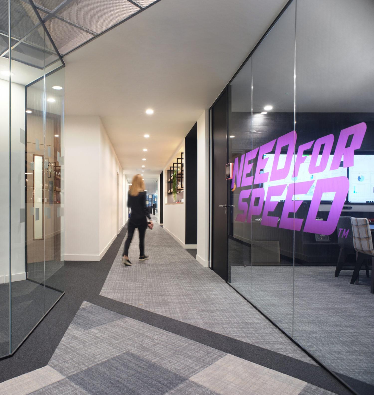 EA modern meeting space design