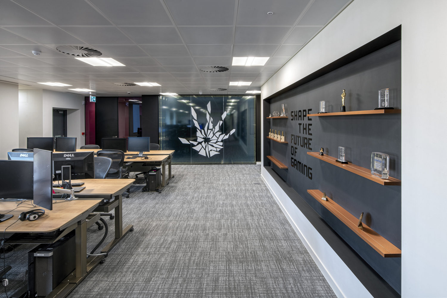 EA open plan office fit out