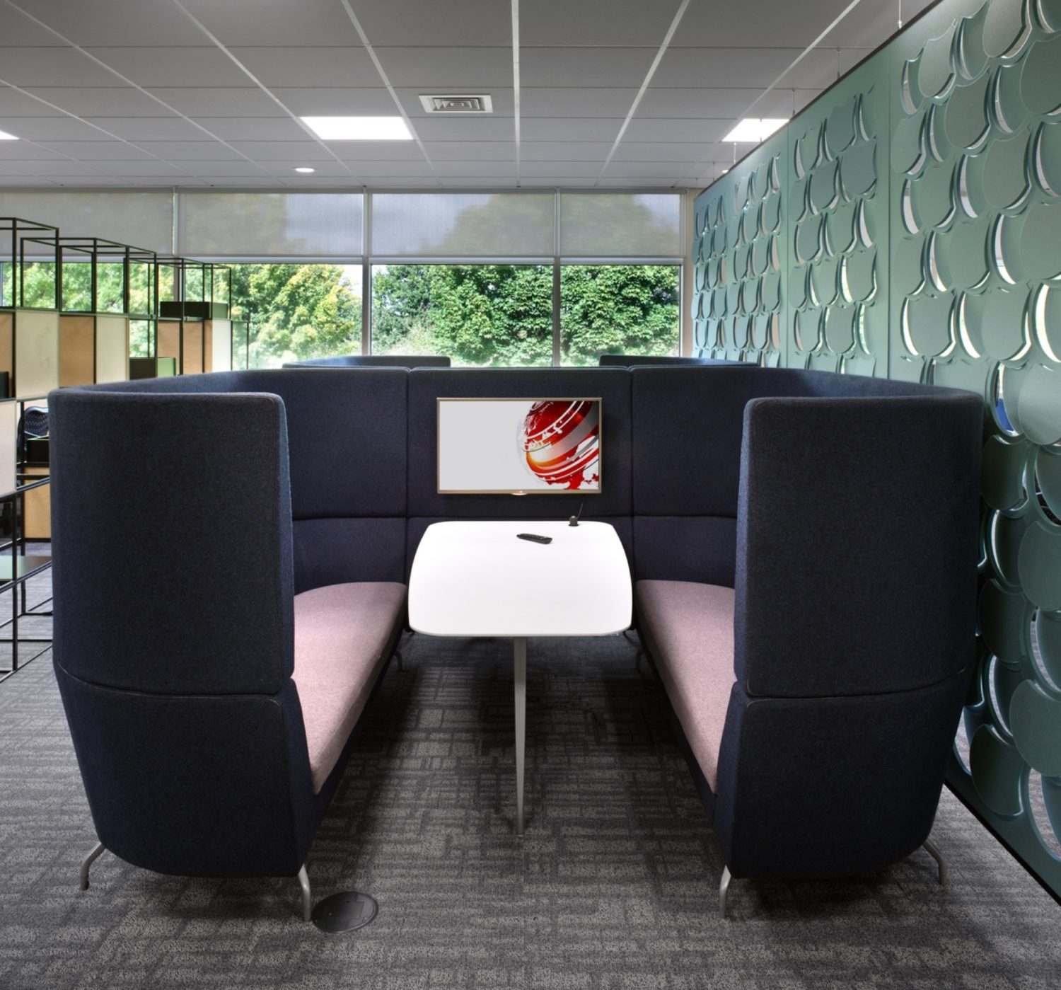 Elanco sustainable office interior design