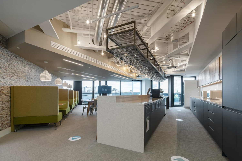 Generation bar in office design