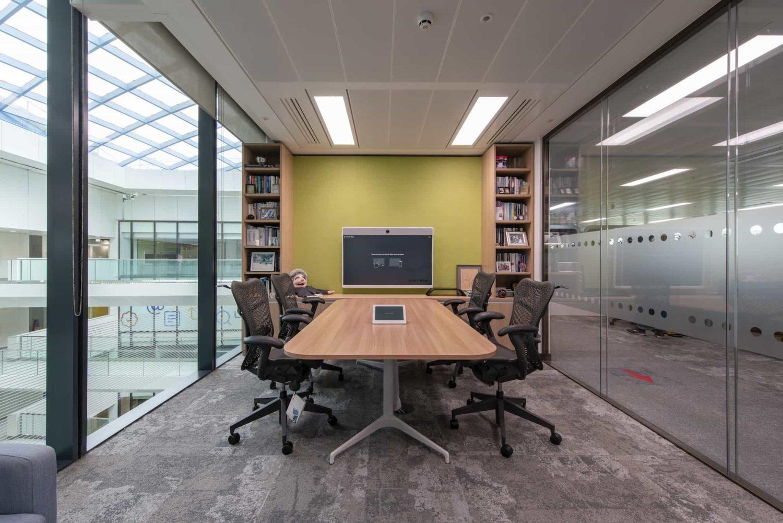 Generation high tech meeting room