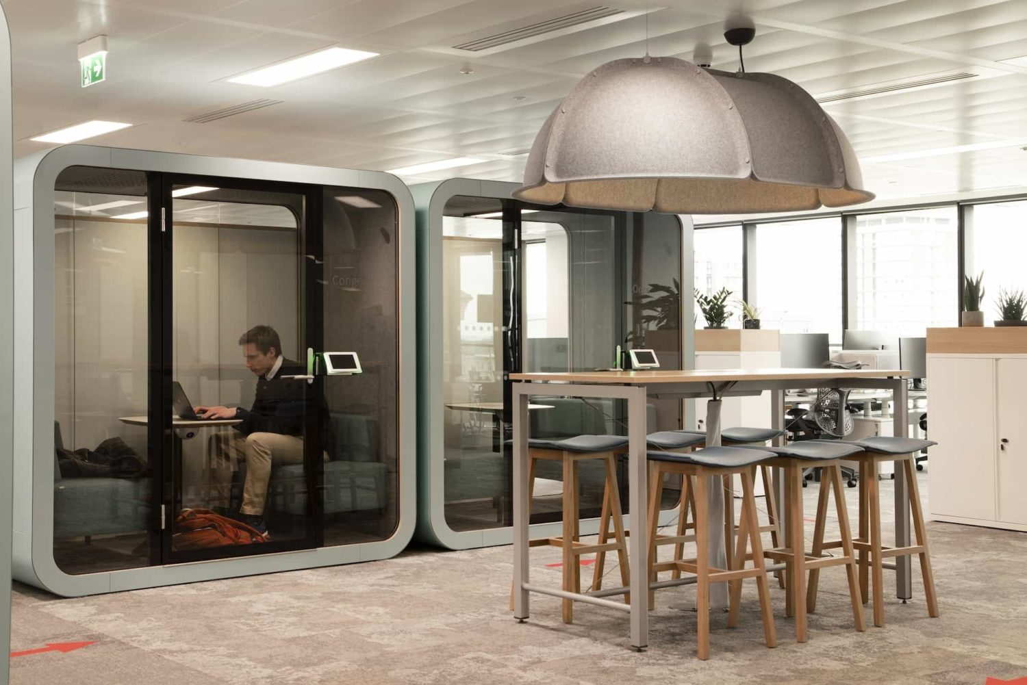 Generation meeting pod fit out