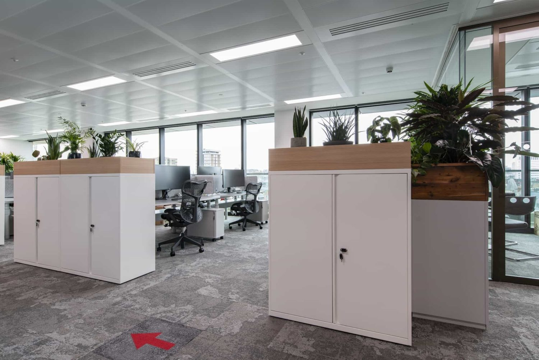 Generation office locker fit out