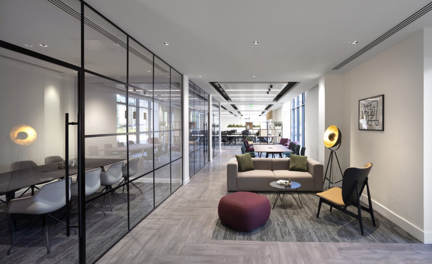 Cat a plus communal area fit out