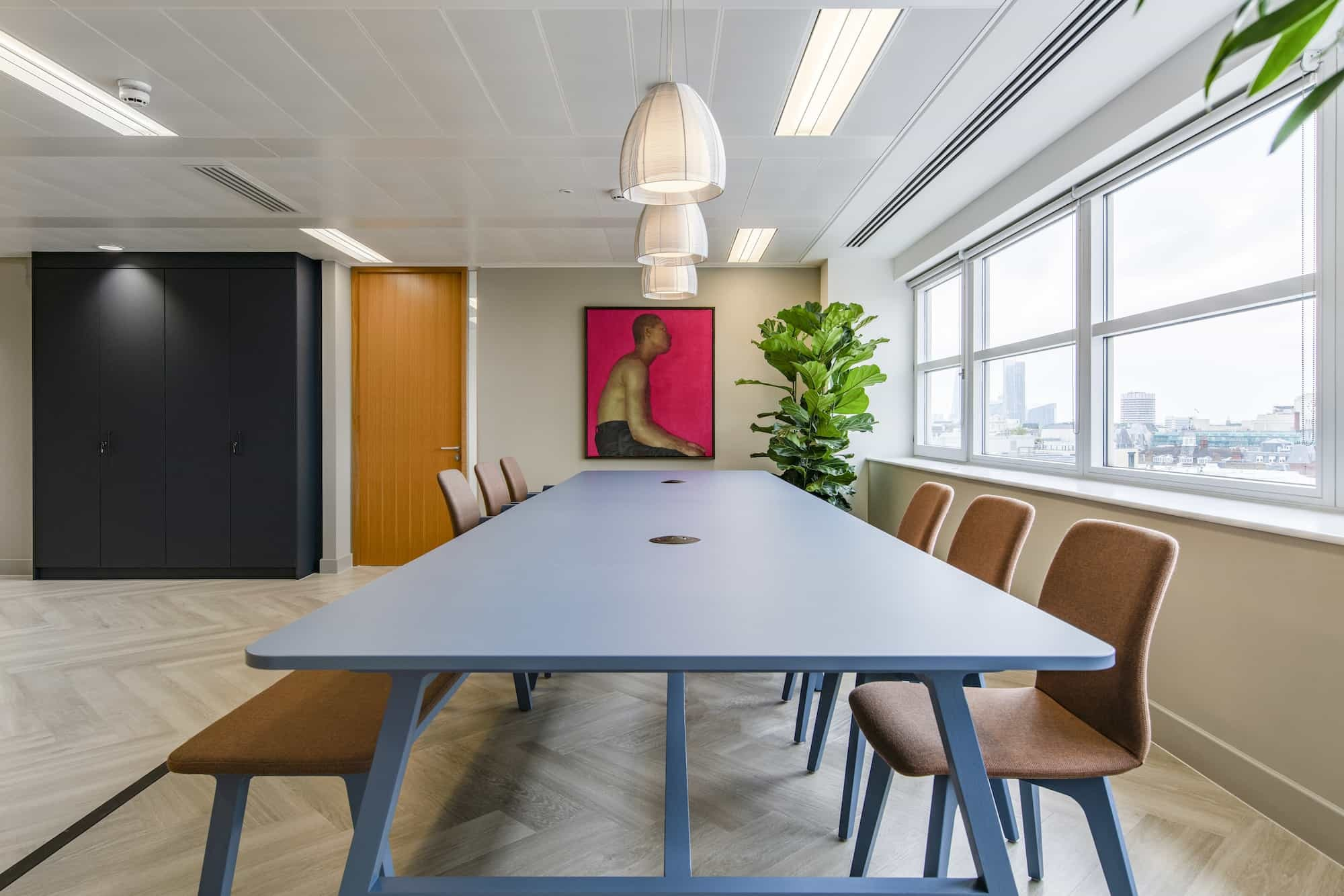 MML raised meeting are fit out