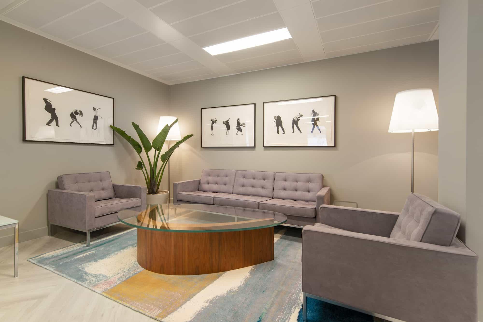 MML reception waiting area design