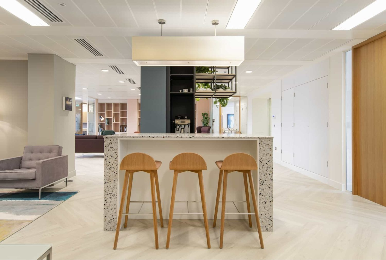 MML office coffee area design