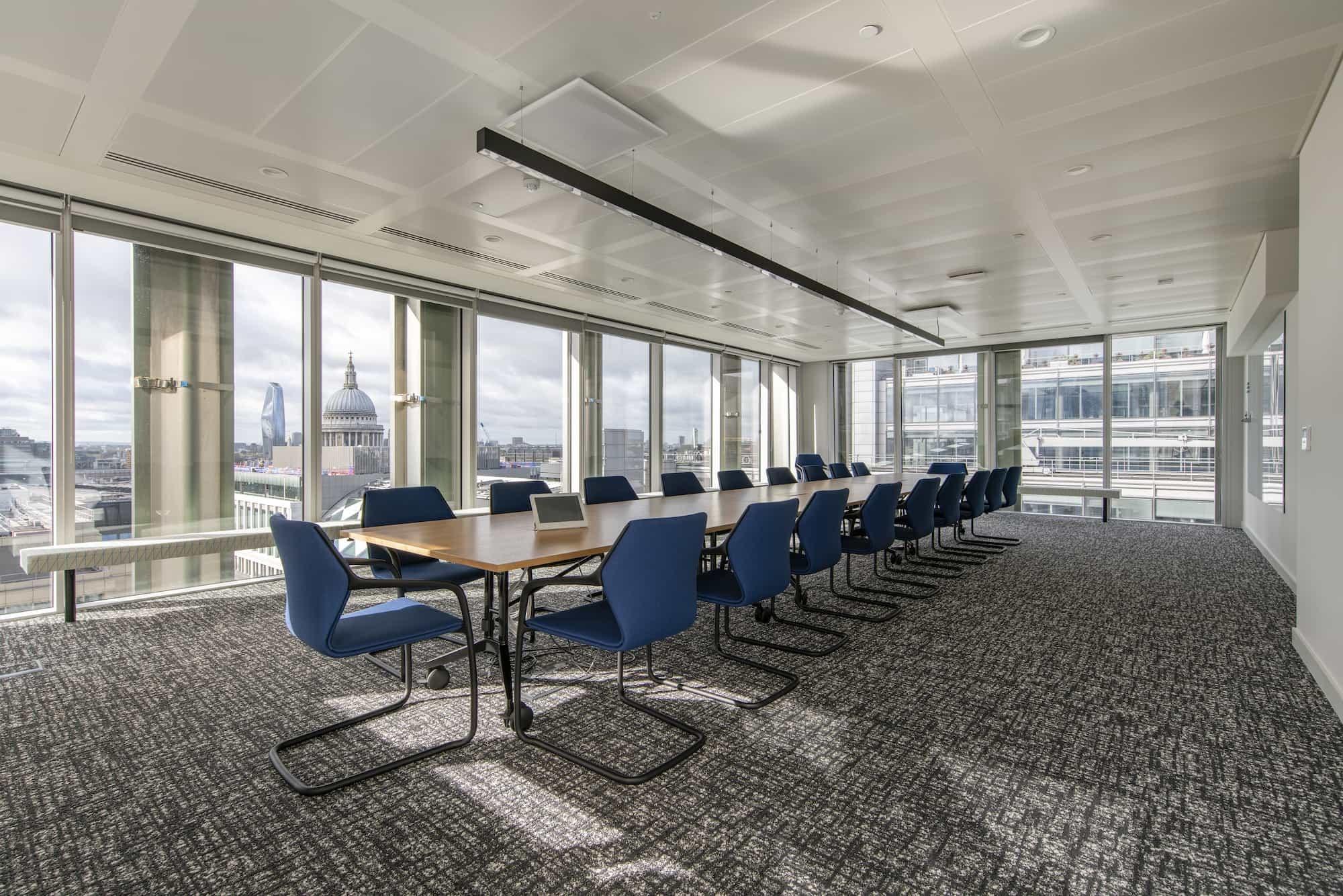 MarketAxess boardroom refurbishment