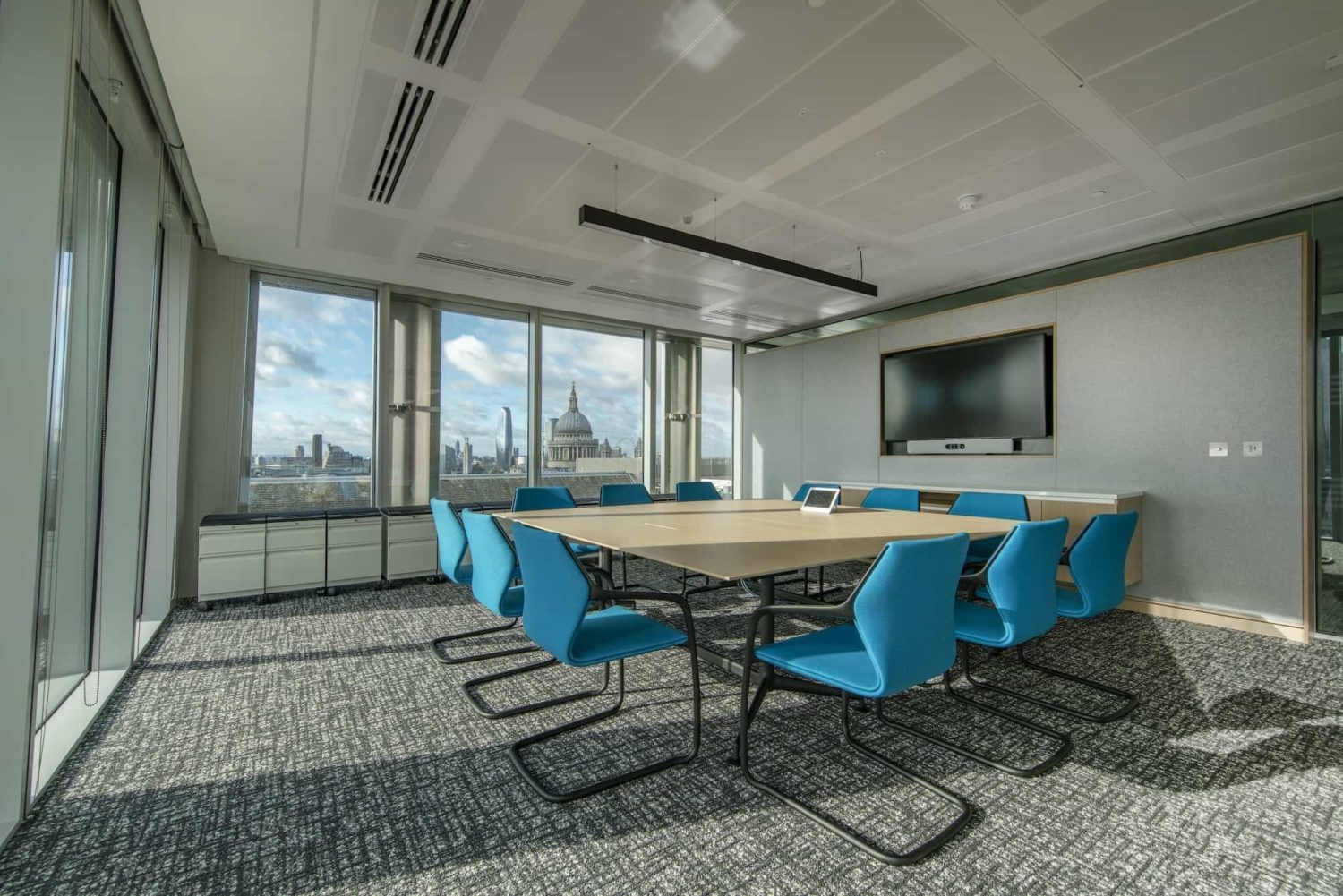 MarketAxess meeting room fit out