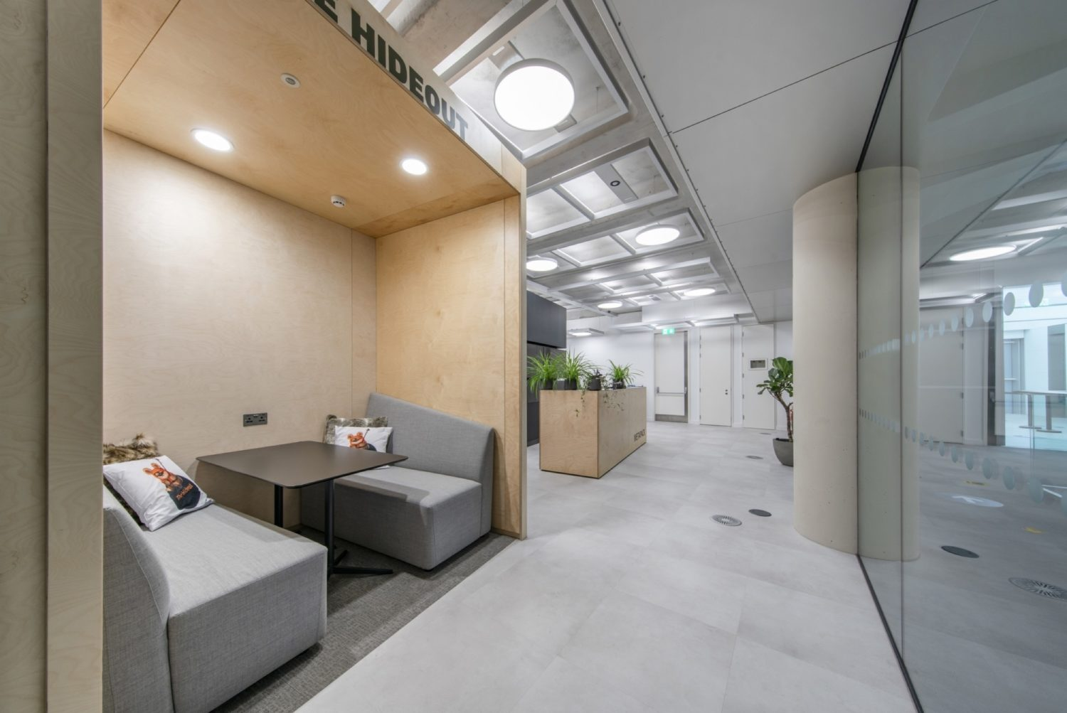 Metapack office pod fit out