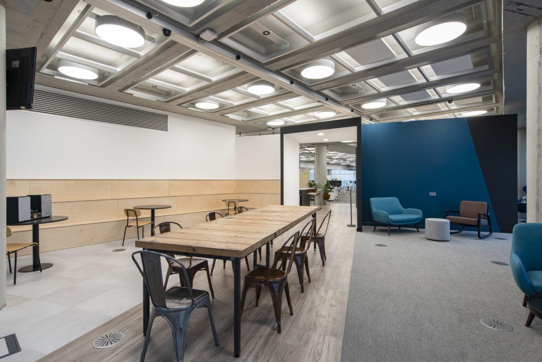 Metapack office refurbishment breakout space