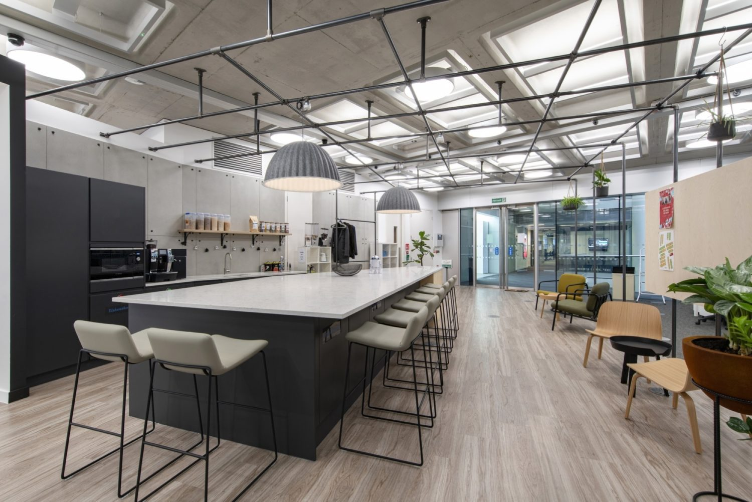 Metapack staff cafe fit out