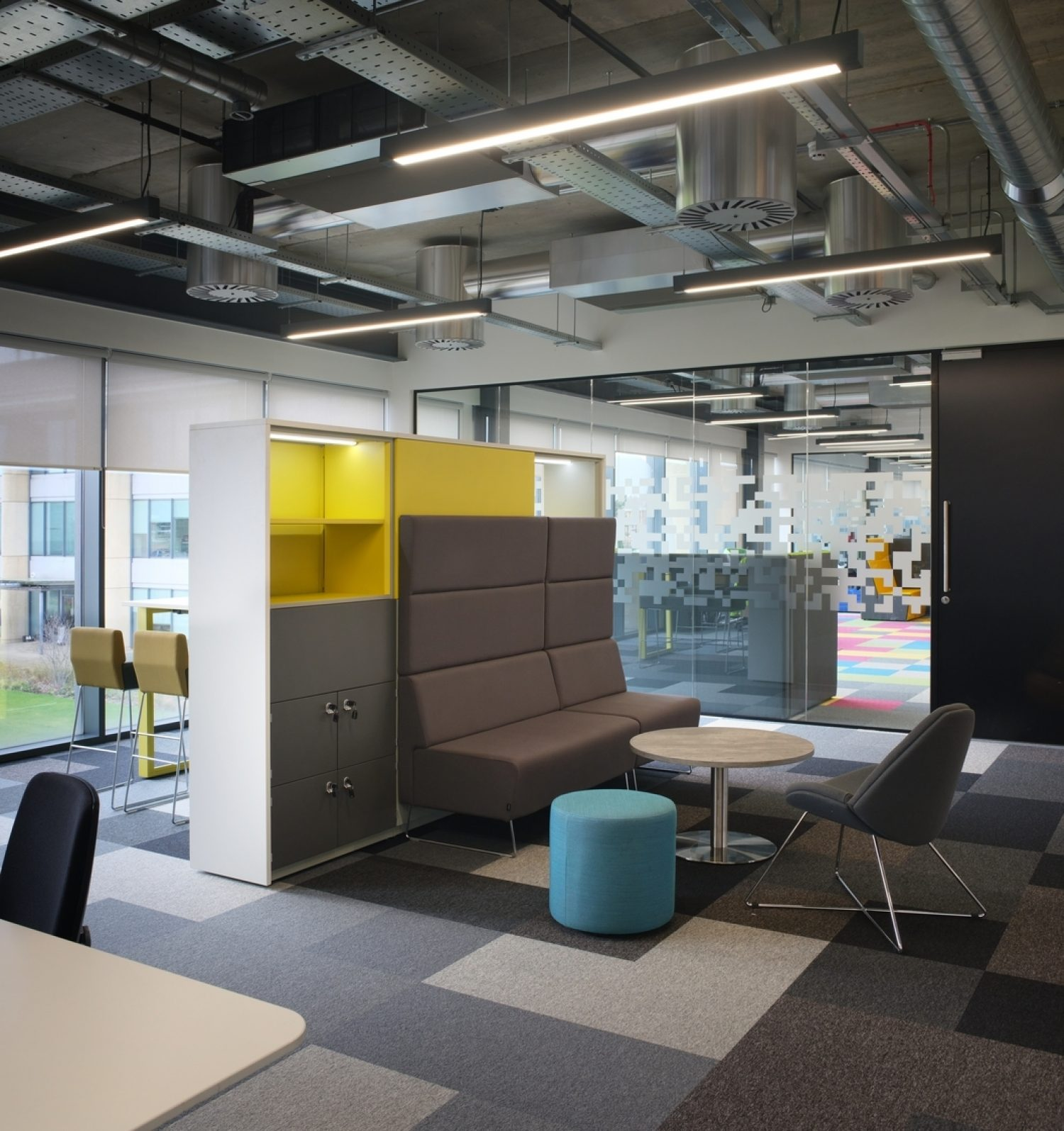 Office interior designed for teams