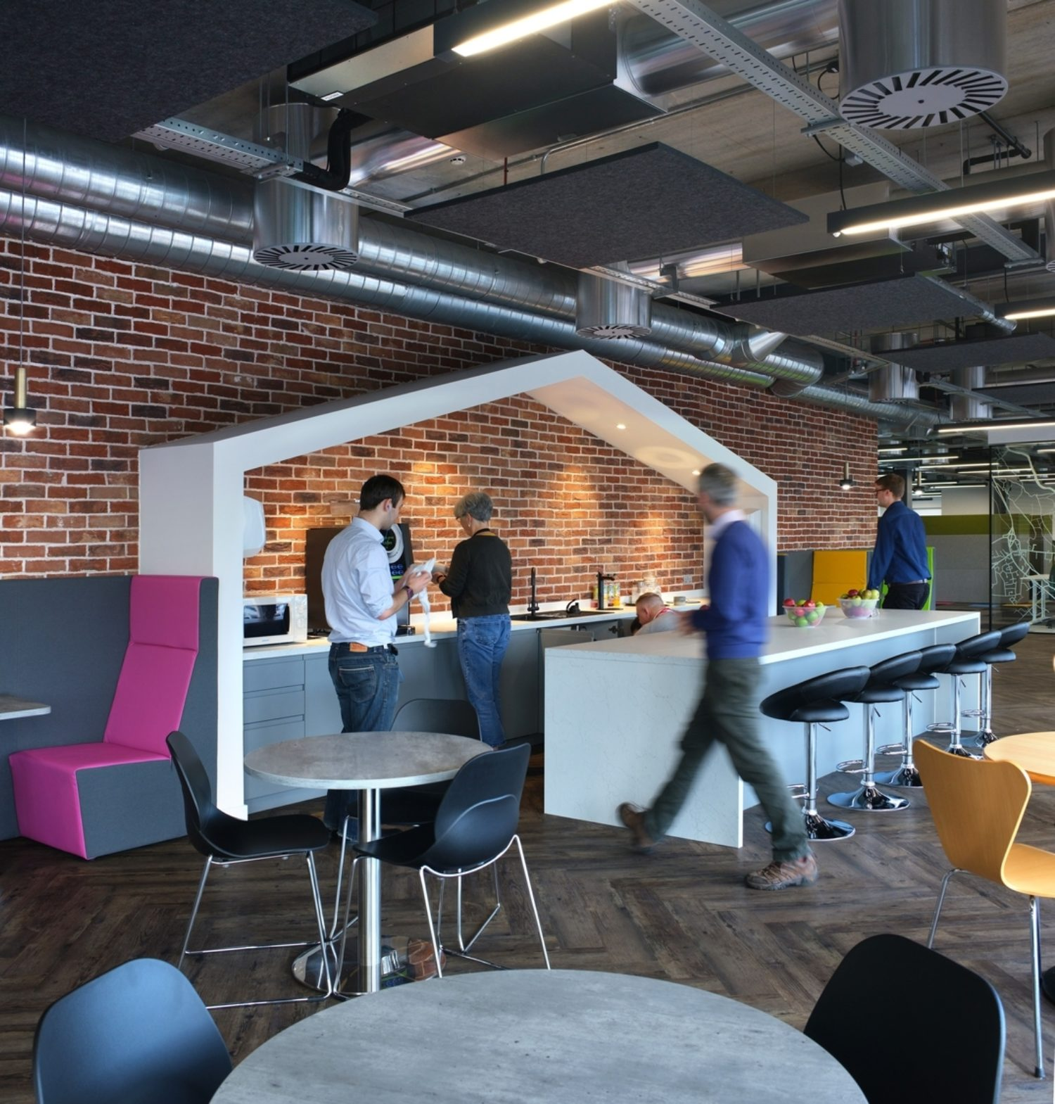 Perspectum office cafe fit out