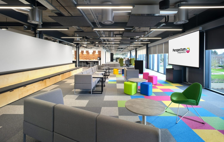 Perspectum collaboration hub designed for collaboration