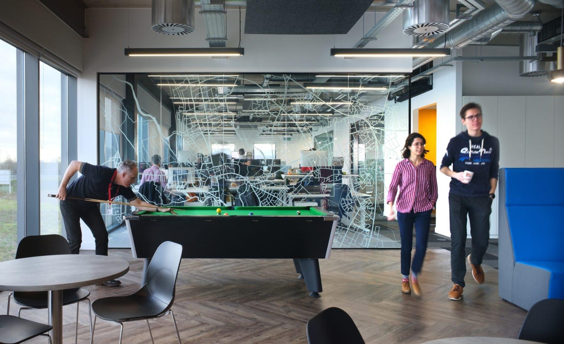 Perspectum office pool table