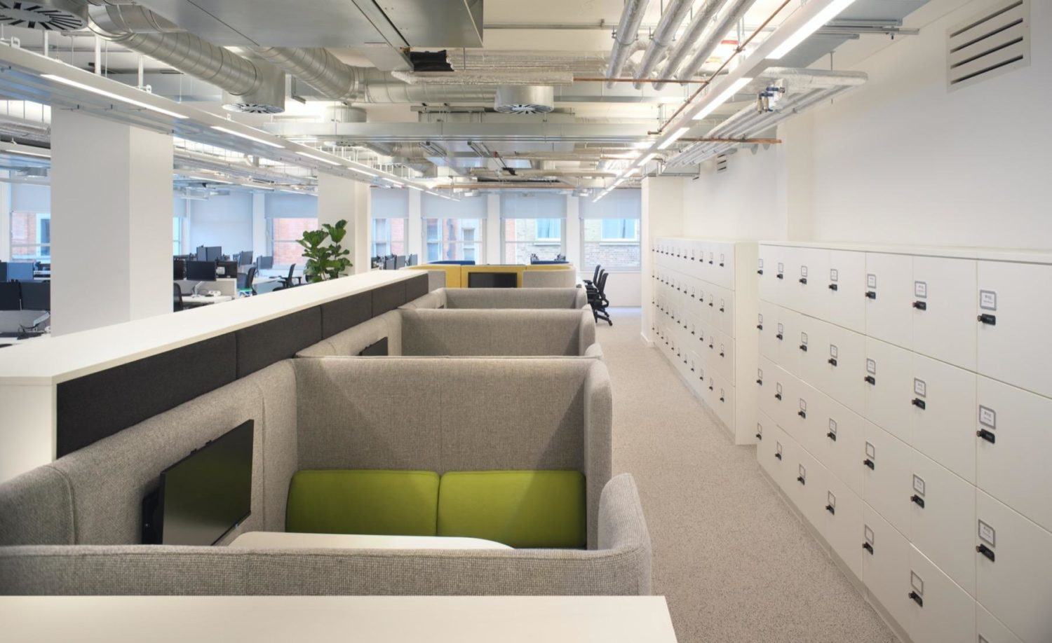 SAGE agile workplace refurbishment