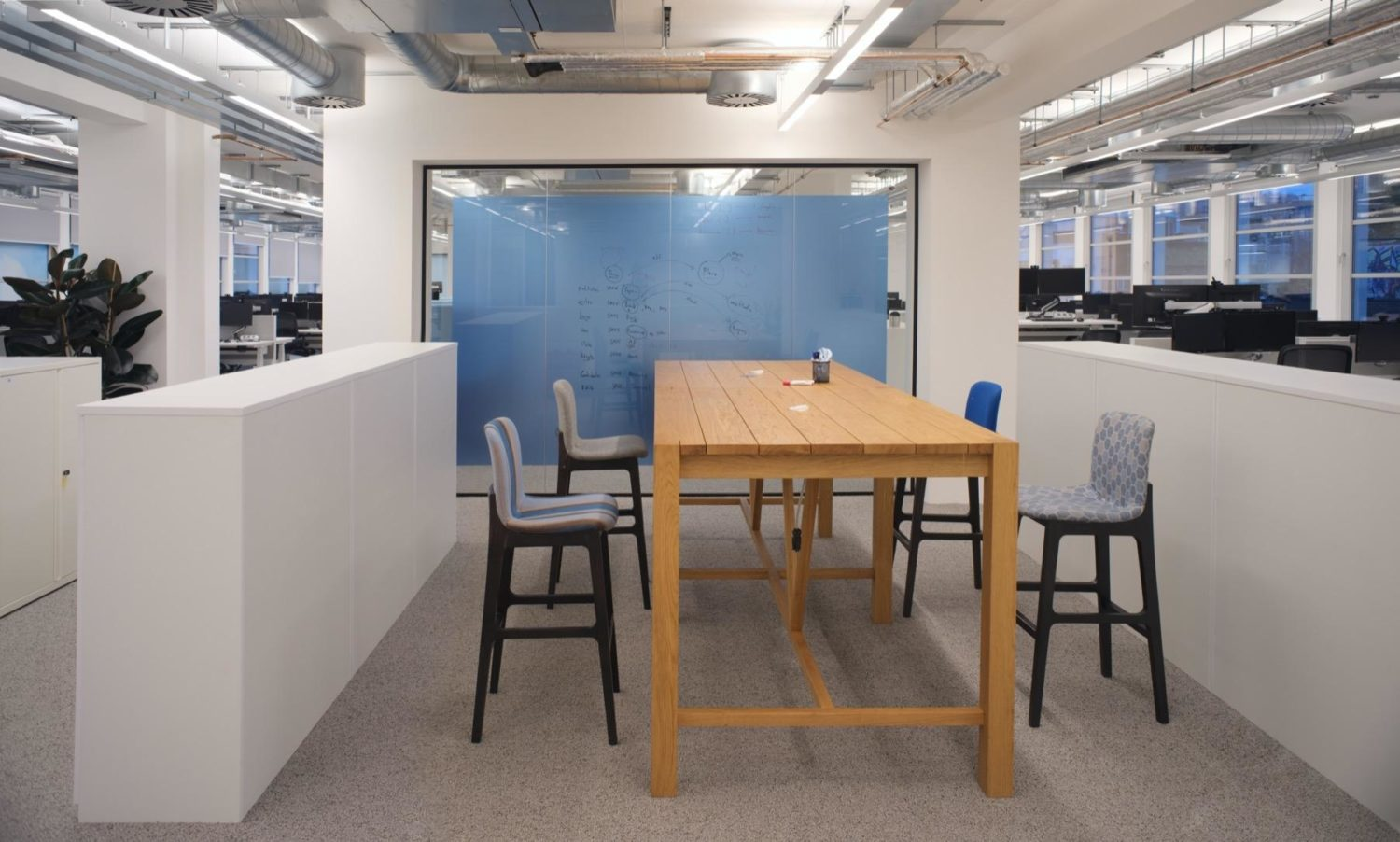Sage agile workspace fit out