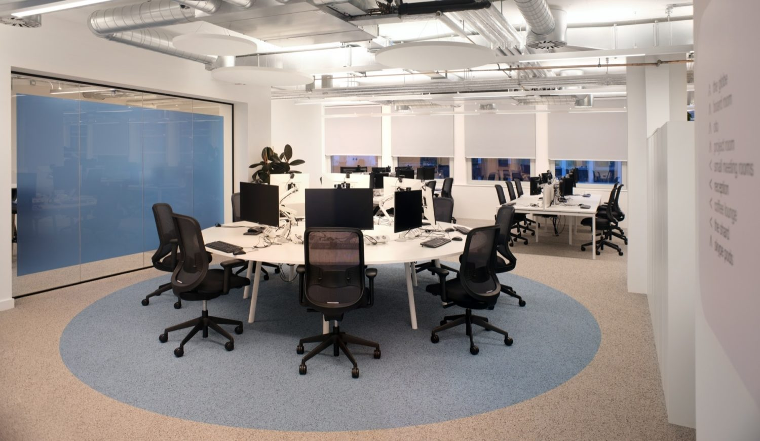 Sage office fit out for teams