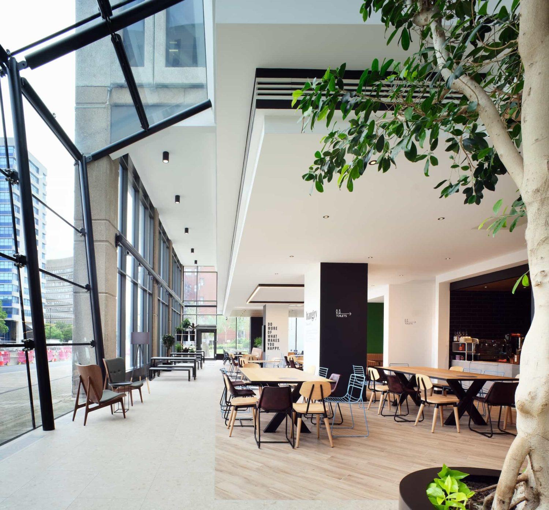 abrdn double-height atrium