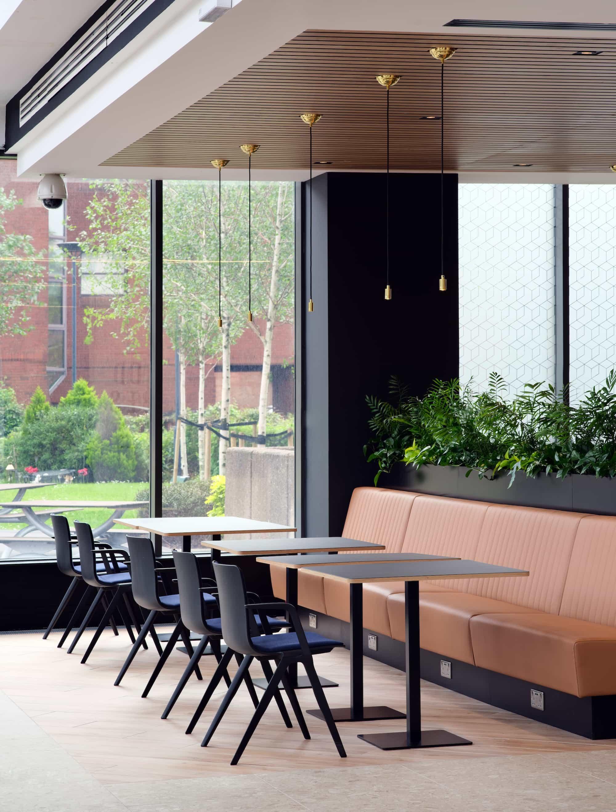abrdn office breakout area design