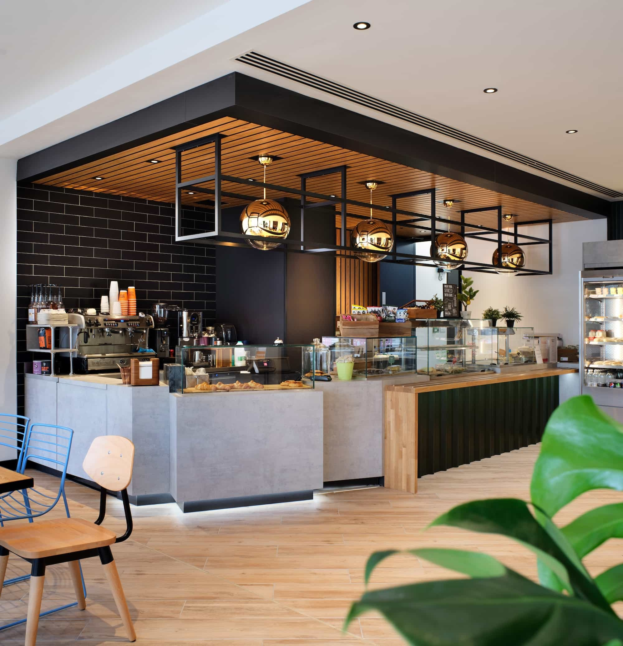 office coffee bar design and fit out